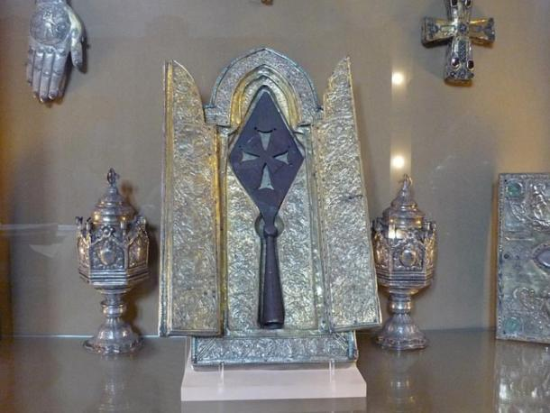 The Holy Lance held in Museum of Echmiadzin, Armenia (Emanuele Iannone / Public domain)