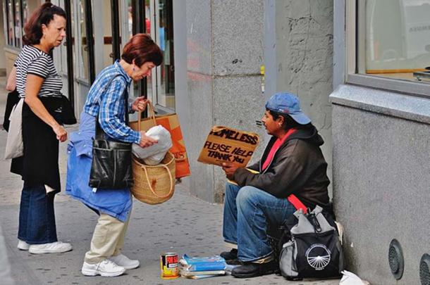 Homo sapiens engage more in altruistic acts.