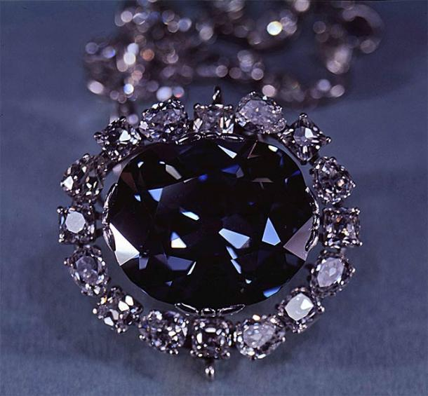 The Hope Diamond. (Public Domain)