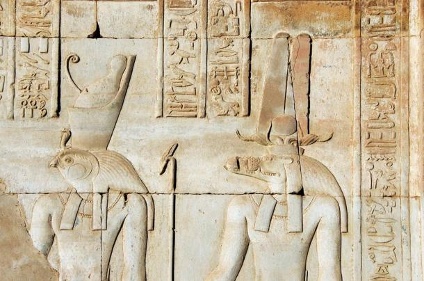 Horus and Sobek are here even presented together