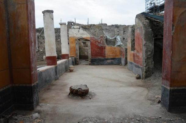 'House of the Garden' in Regio V of Pompeii. (Image: Parco Archeologico di Pompei)