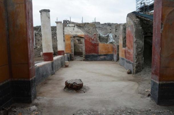 'House of the Garden' in Regio V of Pompeii. (Image: Parco Archeologico di Pompei)