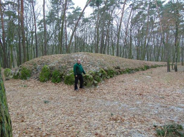 Huge mound tombs discovered in Poland.
