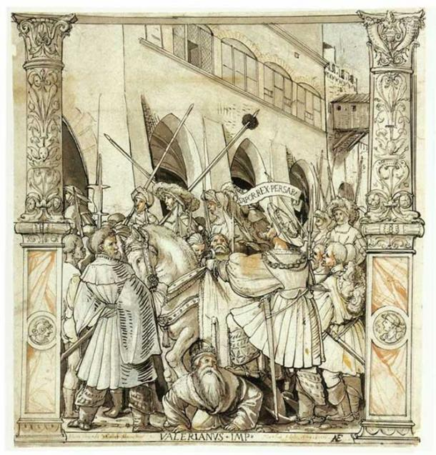The Humiliation of the Emperor Valerian by the Persian King Shapur, 1521.