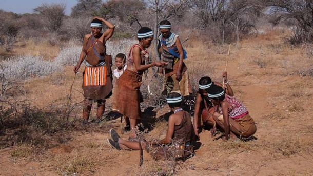 Hunter-gatherer societies typically had low wealth disparities. Their mobility would make it hard to accumulate wealth.