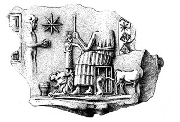 A Hurrian seal found at Urkesh