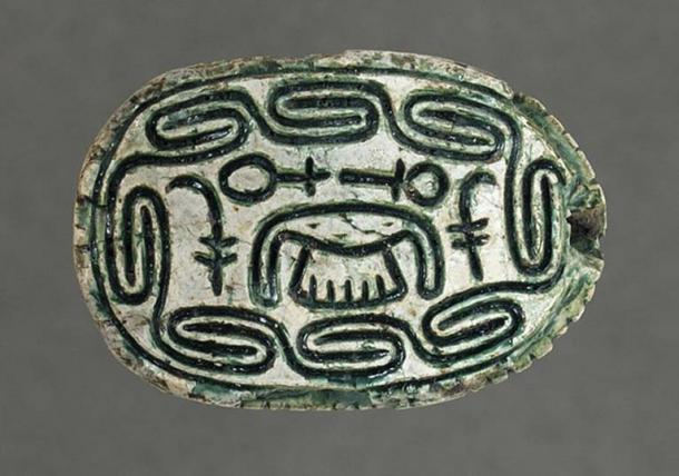 Hyksos Scarab with 'Foreign King's' Name.