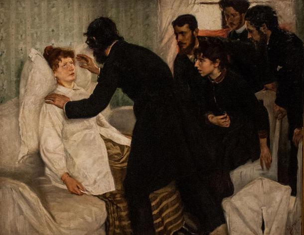 Hypnotic séance (1887) Richard Bergh