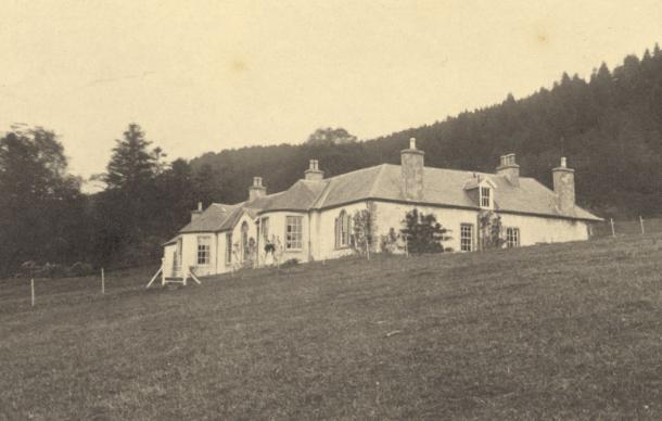 What Boleskine House once looked like and will hopefully look like again. (Boleskine House Foundation)