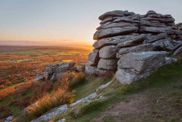 The myths and legends surrounding Dartmoor National Park, the home of Crazywell Pool, attract visitors from far and wide. (annacurnow / Adobe Stock)