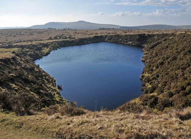 Crazywell Pool on Dartmoor has given rise to many myths and legends. (Nilfanion / CC BY-SA 3.0)