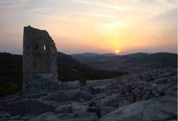 The mountain citadel of Perperikon