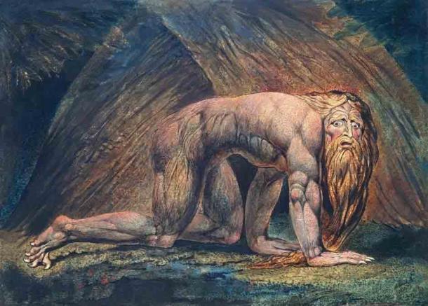 'Nebuchadnezzar' (c. 1795/1805) by William Blake. (Public Domain)