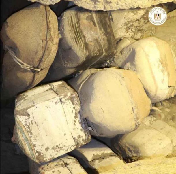 Egypt unveils 3000-year old coffins