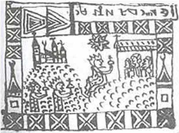 Illustration in the Rohonc Codex