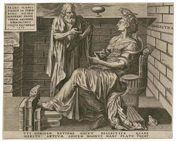 Illustration of Anaximenes.