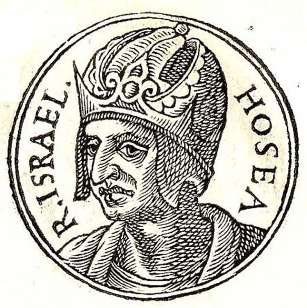Illustration of Hoshea, the last king of the Israelite Kingdom of Israel.