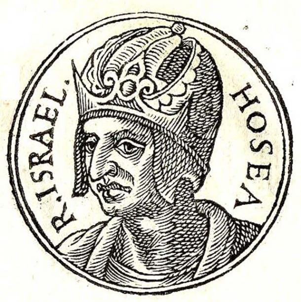 Illustration of Hoshea, the last king of the Israelite Kingdom of Israel.