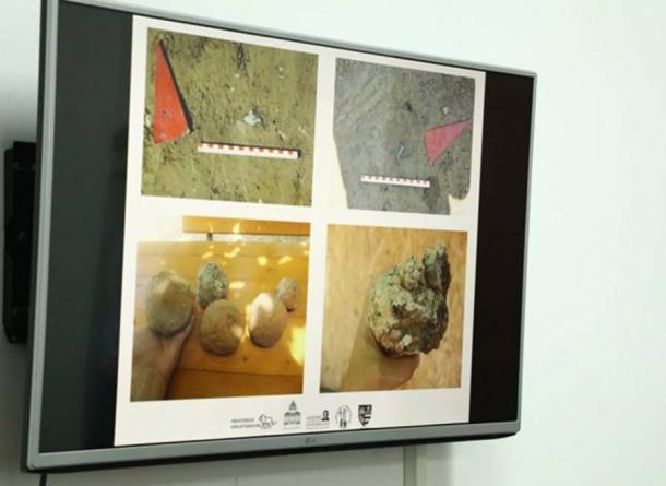 Images of artifacts found at the Bronze Age citadel in Romania. (Consiliul Judetean Arad)
