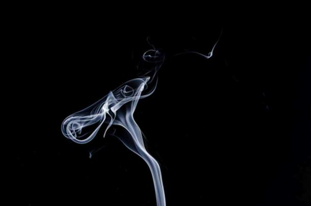 In capnomancy, a seer uses smoke to make predictions. (CC0)