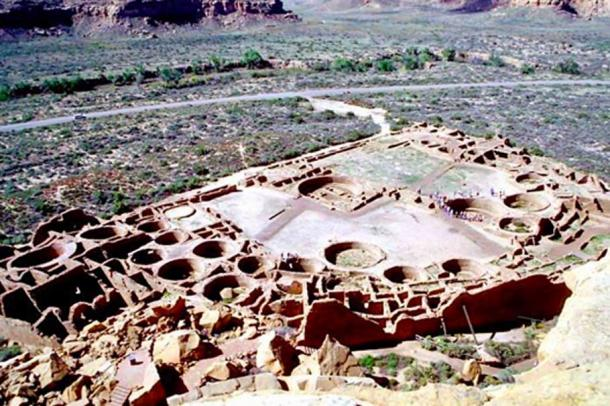 In the 11th-century the Ancestral Puebloans built huge structures in the Chaco Valley, thought to be the site of religious pilgrimage. (John Kantner / UNF)