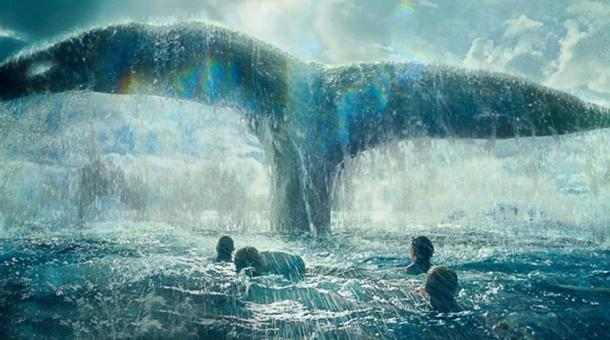 A scene from 'In the Heart of the Sea'
