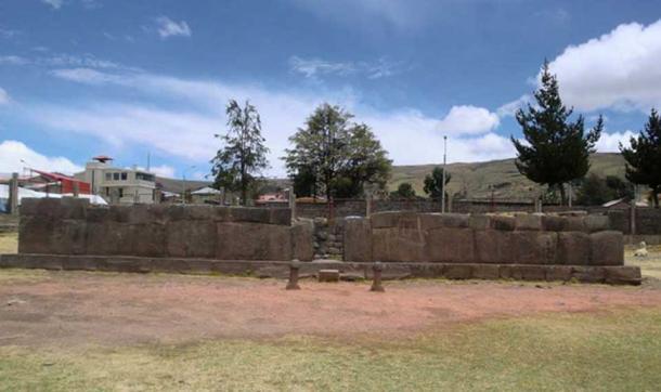 Inca Uyo fertility temple enclosure