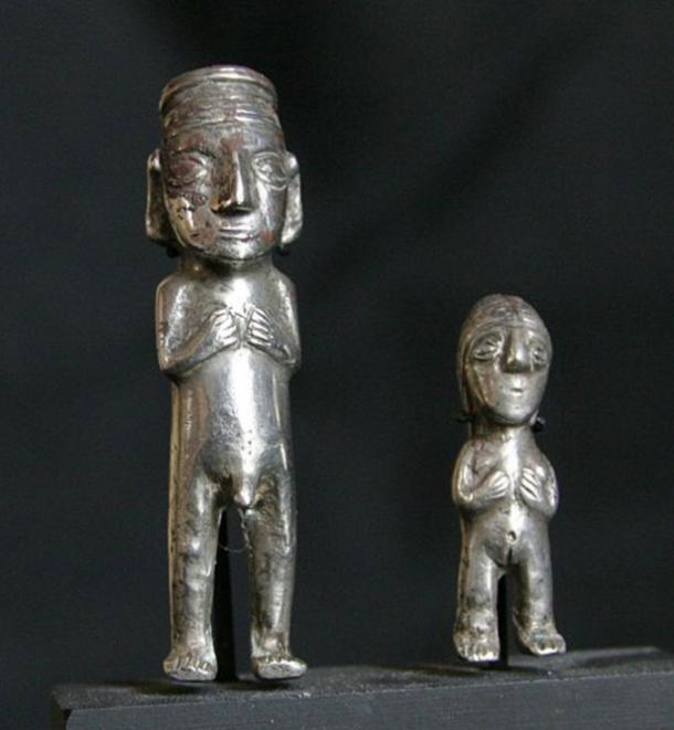 Inca silver figurines. Lombard Museum