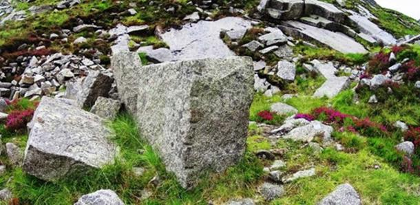 Incremental markings found on megalithic blocks in Ireland
