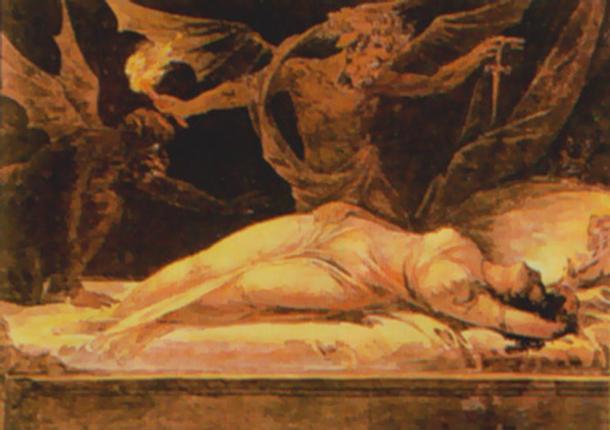 'Incubus' (1870).