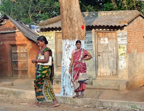 India Tribal Woman Women Odisha India. (Maxpixel / Public Domain)