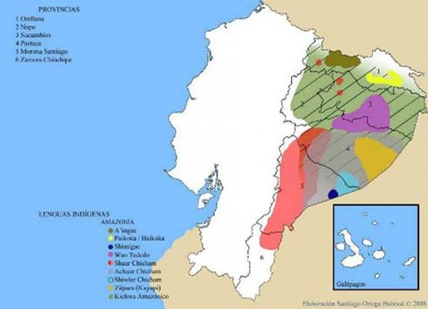 Indigenous languages of Ecuador's Orient (Amazon region). Photo credit: Santiago Ortega Haboud (2008)