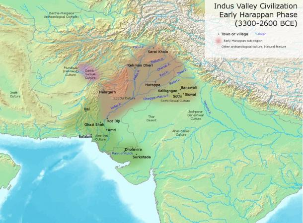 Indus Valley Civilization, Early Phase (3300-2600 BC)