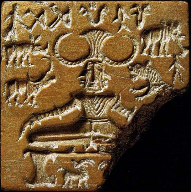 The Indus Valley civilization (2,600-1,900 BCE) located both in Pakistan and India is often identified as having been Dravidian. The Pashupati seal from the Indus Valley Civilization.