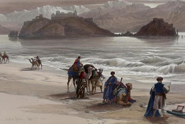 Influential merchants traded goods across Asia.