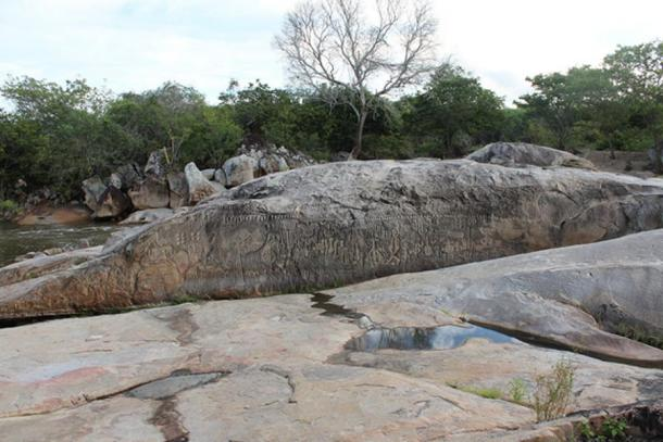Inga Stone, Paraíba, Brazil.