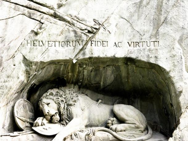 Inscription written on the monument.