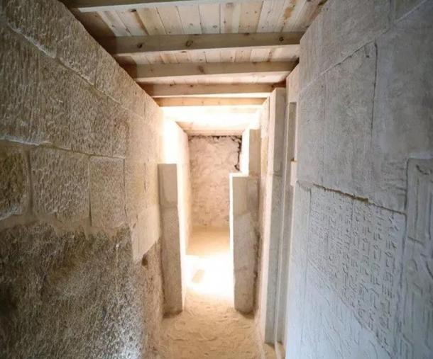 Inscriptions found on the walls of one of the Giza Plateau tombs