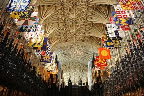 Inside St George's Chapel. (Josep Renalias/CC BY SA 3.0)
