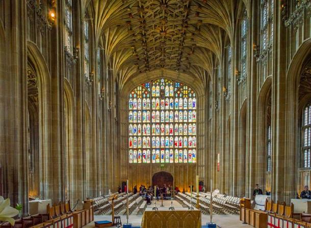 Inside St George's Chapel, Windsor Castle, Berkshire. (Jack Pease/CC BY 2.0)