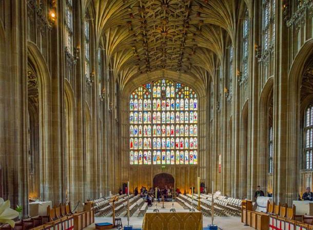 Inside St George's Chapel, Windsor Castle, Berkshire. (Jack Pease/CC BY 2.0)