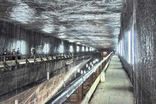Inside Salina Turda.