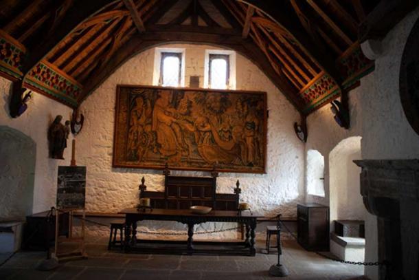 Inside the Vicar's chapel. Credit: Ioannis Syrigos