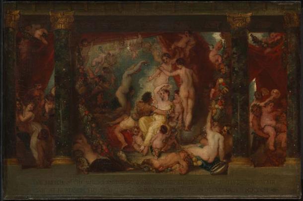 Intemperance' (c. 1802) by Thomas Stothard.