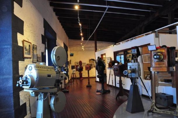 Interior of the Photography Museum in Port Louis, Mauritius (Image: Frédérick Bréville, ©)