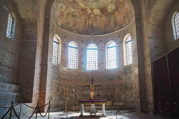 Interior of the Rotunda of Galerius, Thessaloniki, Greece. UNESCO World Heritage Site. (SianStock/ Adobe Stock)