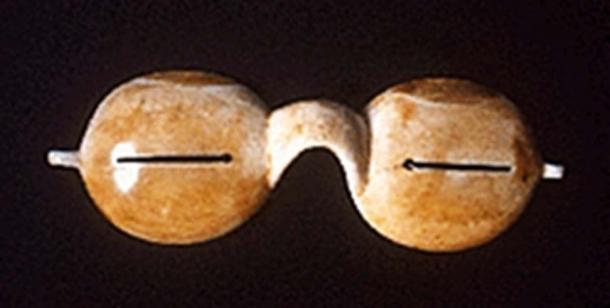 Inuit snow goggles.