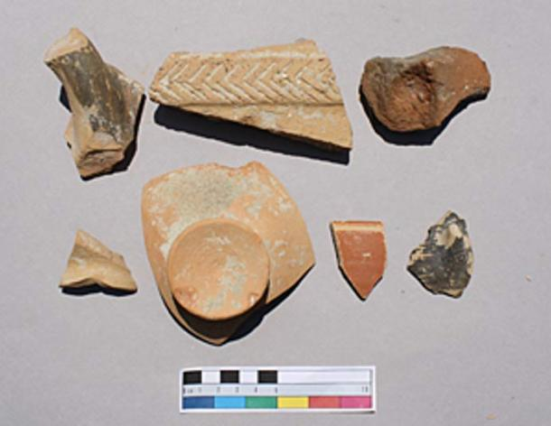 """Larger concentrations of better preserved material from the fringes of early Iron Age Knossos typically suggest a fairly recently disturbed burial context."""