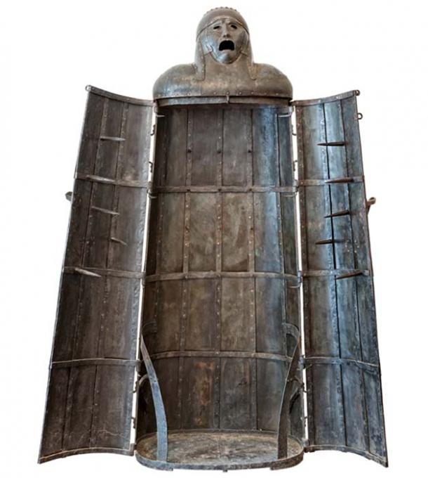 Iron Maiden, medieval torture device. (StarJumper / Adobe)