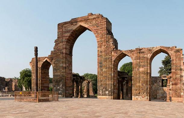 Metallurgy in India has been advanced for many centuries, as witnessed by the nearly rust proof Iron Pillar of Delhi, which is almost 1,700 years old.